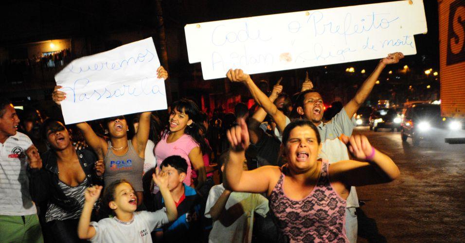 Protesto em Santo André