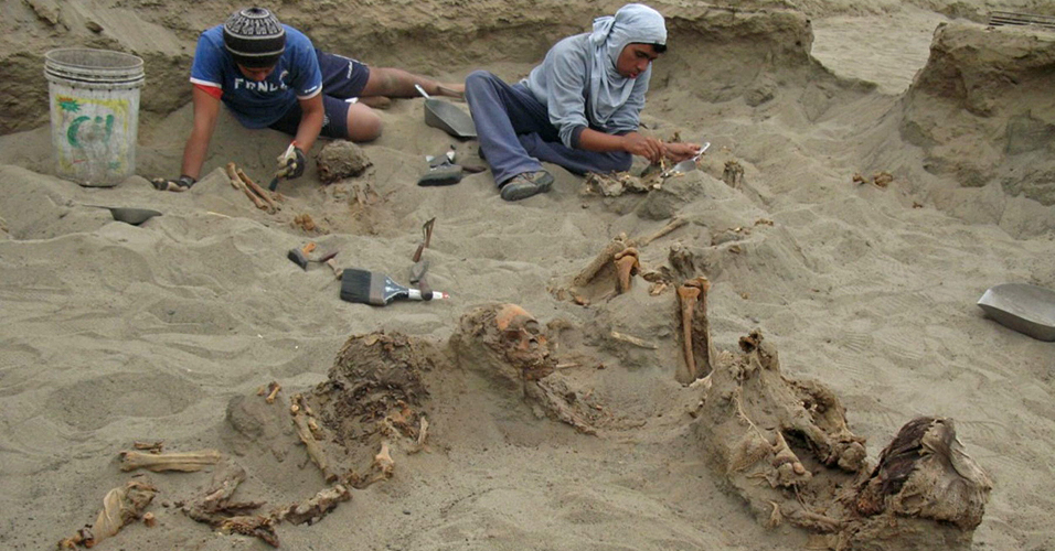 Achado arqueológico
