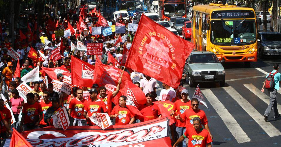 Protesto em BH