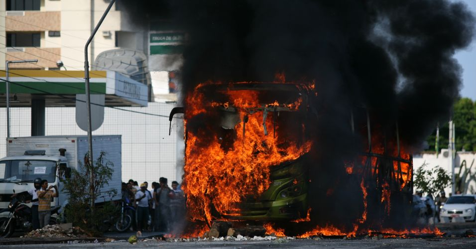 Protesto em Teresina