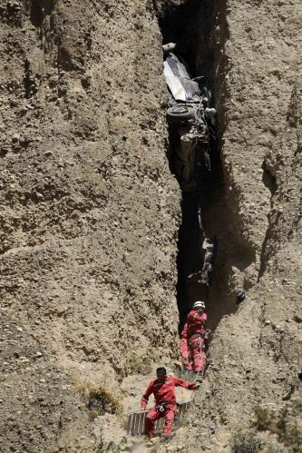 Acidente na Bolívia