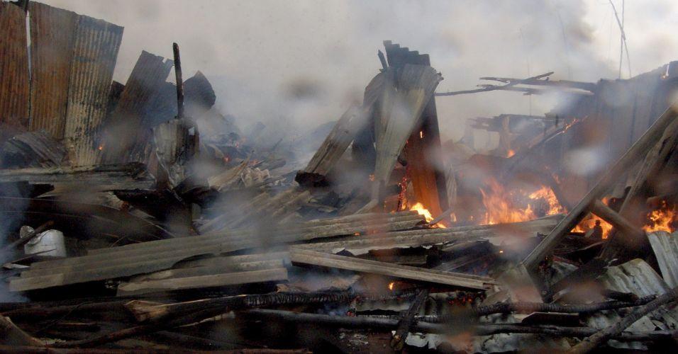 Explosão no Quênia