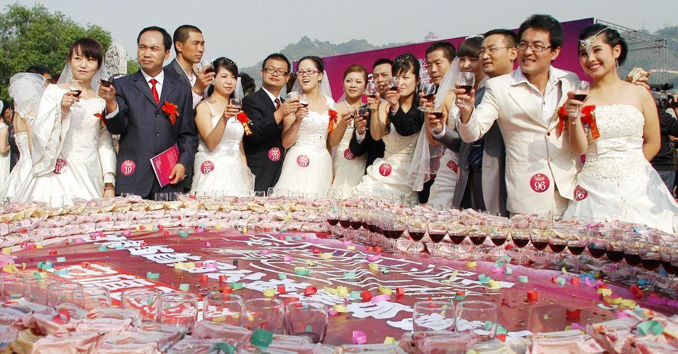 Casamento coletivo na China