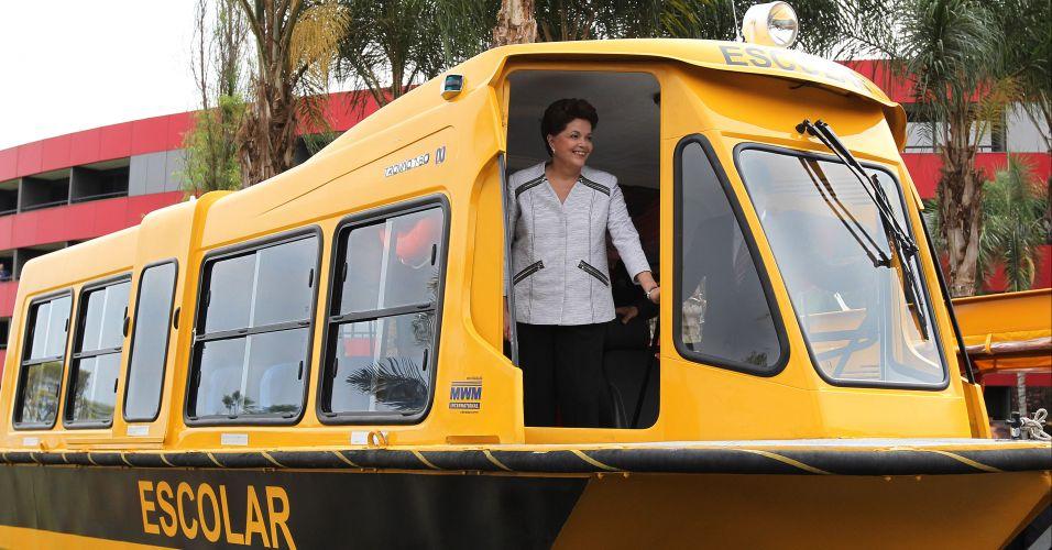 Dilma em Brasília