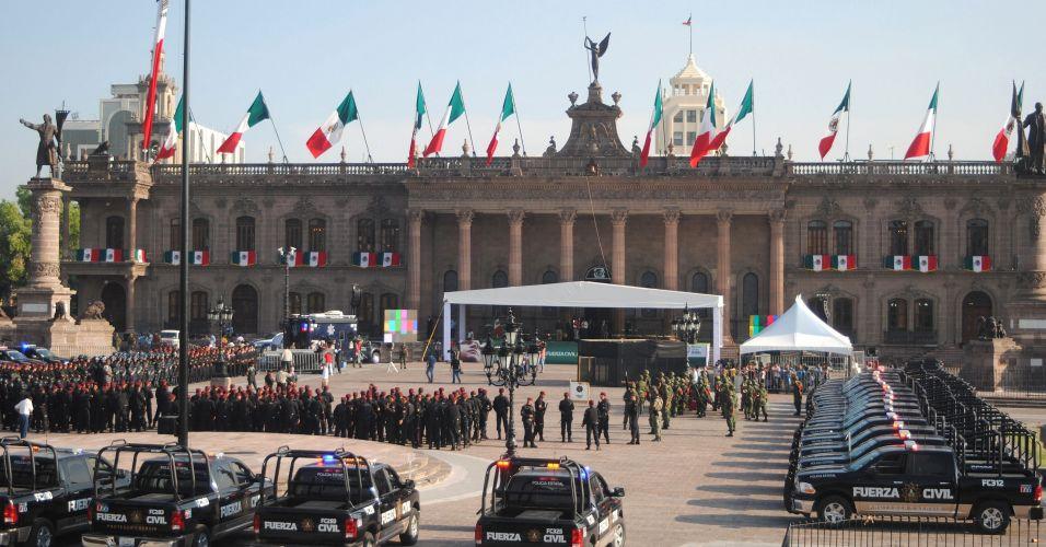 Nova polícia no México