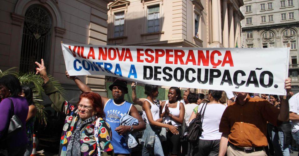 Protesto em SP