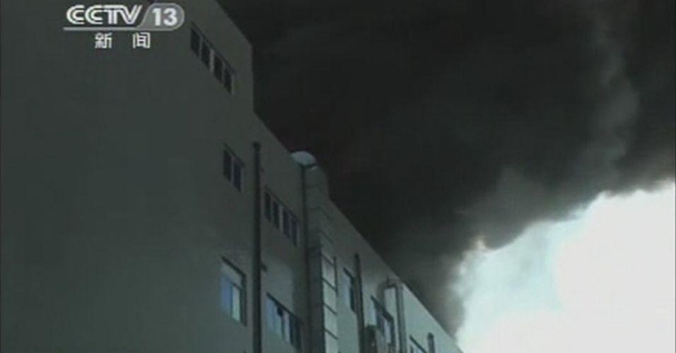Incêndio na China