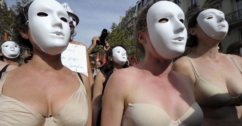 Estudantes em Paris