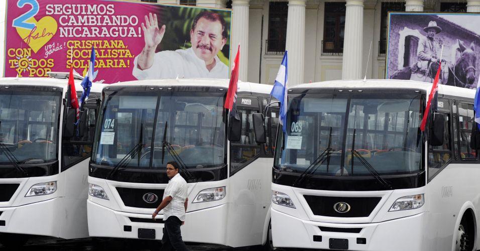 Ônibus mexicanos