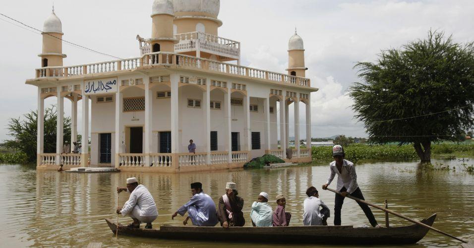 Inundação no Camboja
