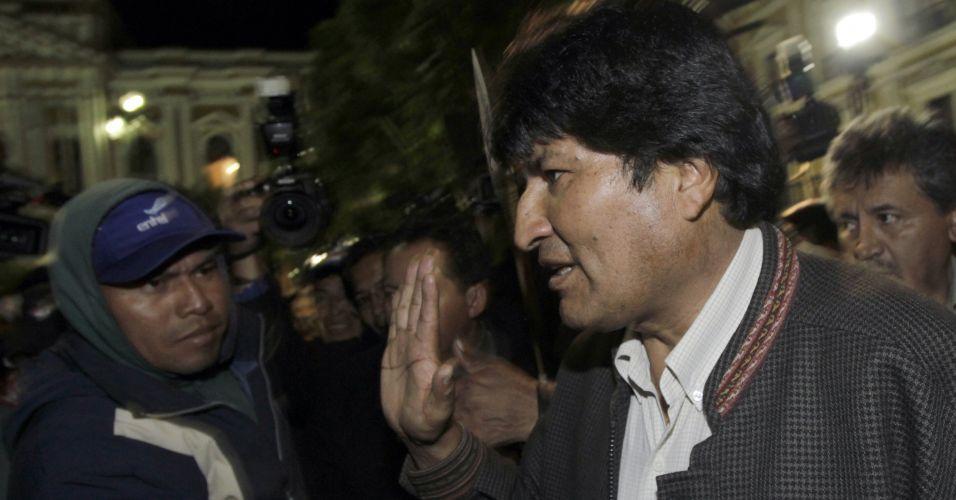 Acordo na Bolívia