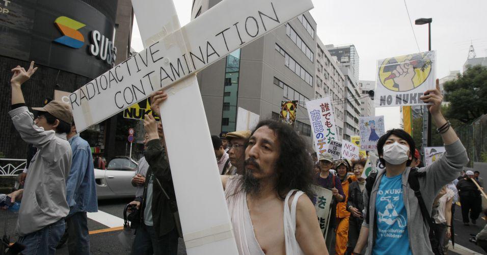 Protesto antinuclear