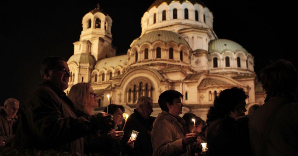 Protesto na Bulgária