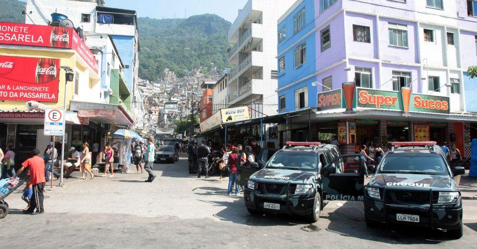 Reforço na Rocinha