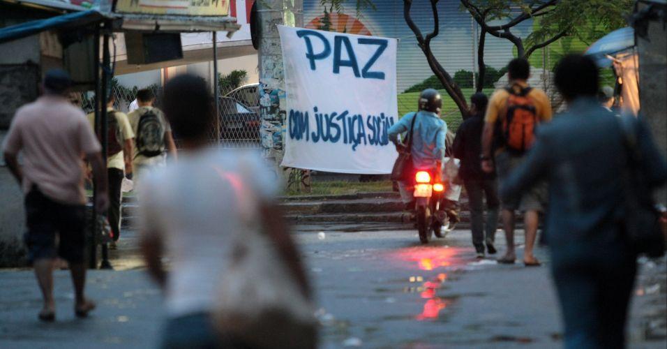 """Paz com justiça social"""