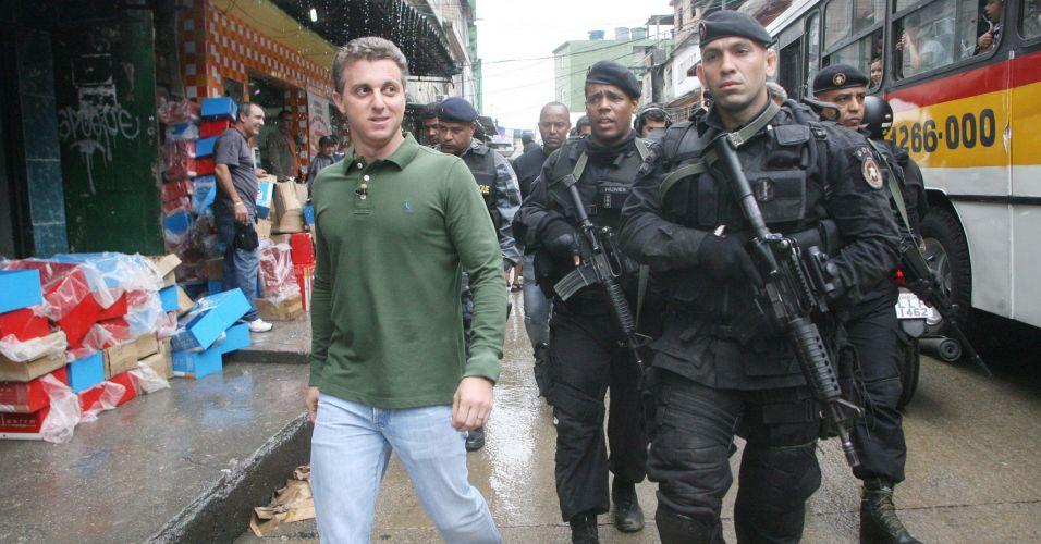 Huck na Rocinha