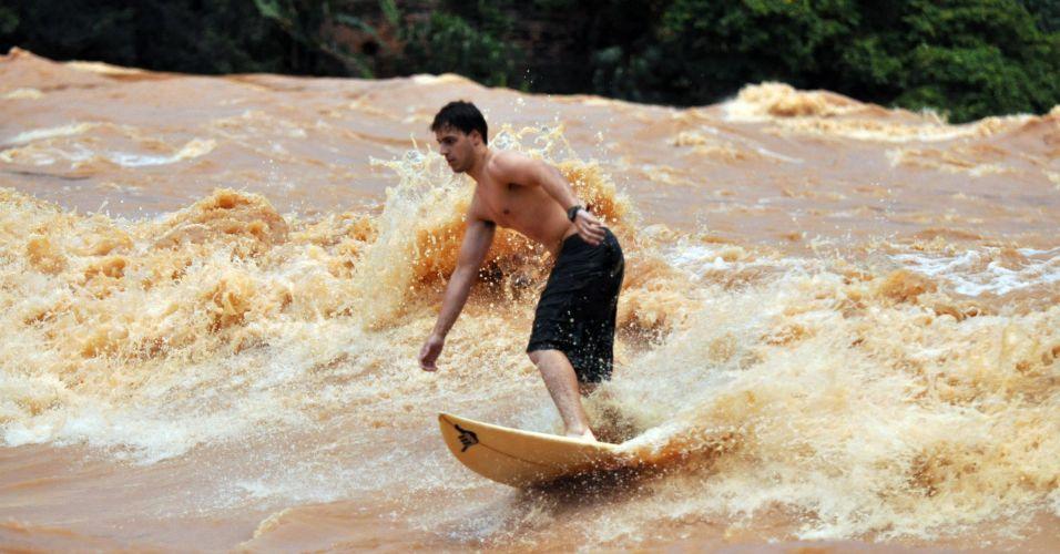 Surfista de rio
