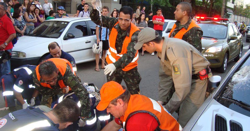 Atropelamento em Santa Maria (RS)