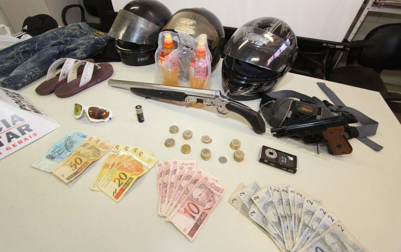 Assaltantes são presos em Uberaba (MG)