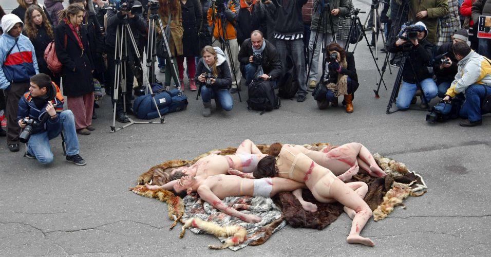 Ativistas dos direitos dos animais
