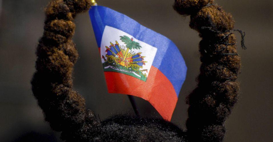 Cerimônia no Haiti