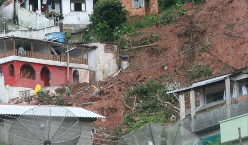 Chuvas na região serrana do Rio