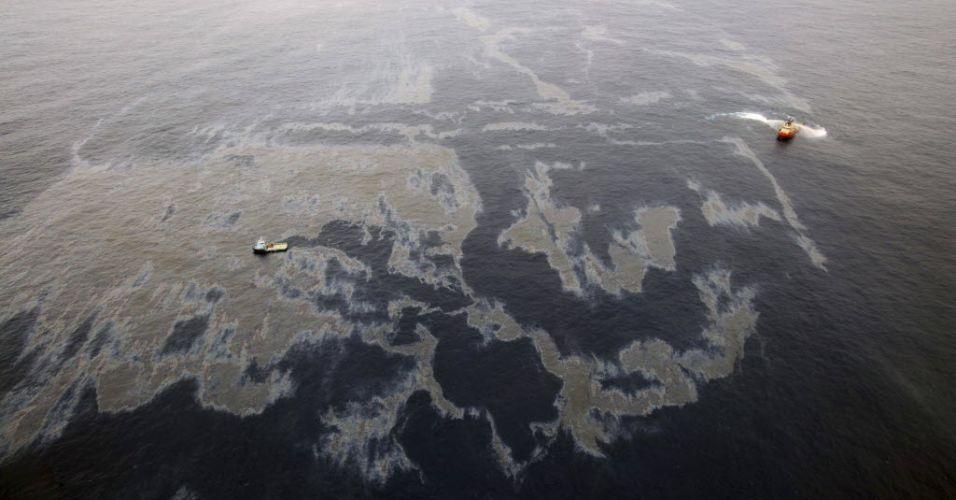 Vazamento de óleo