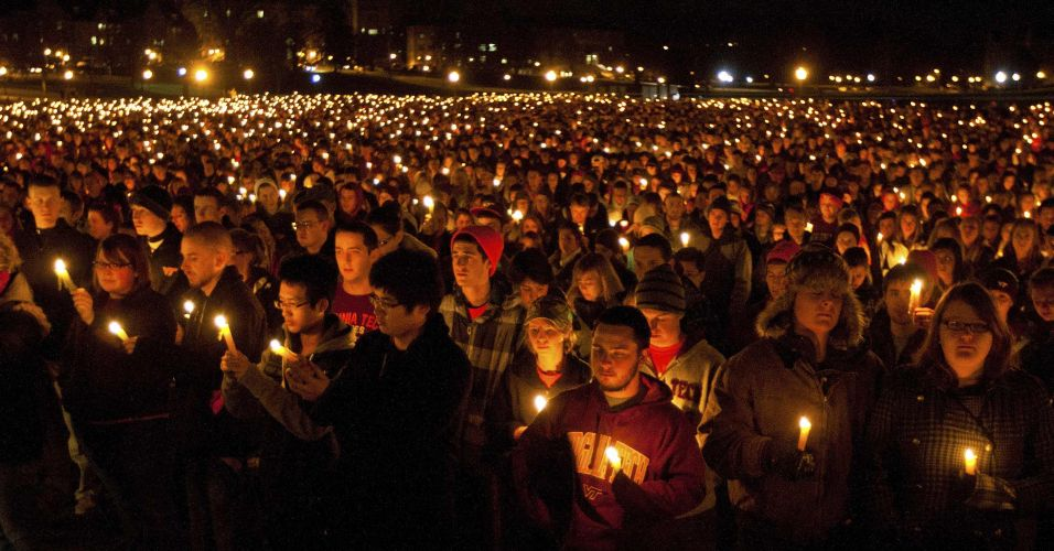 Homenagem em Virginia Tech