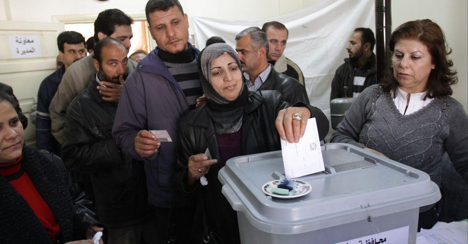 Eleições municipais na Síria