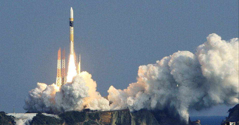 Japão lança satélite