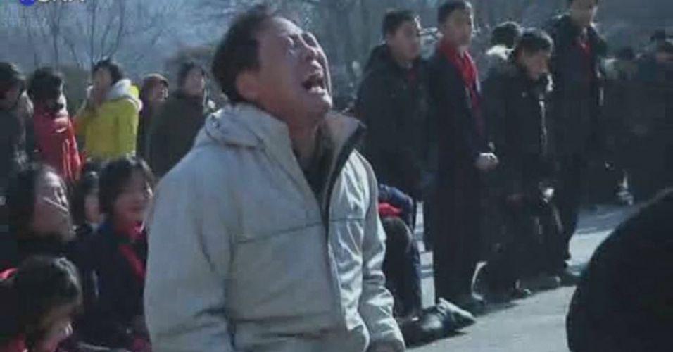 Coreanos choram