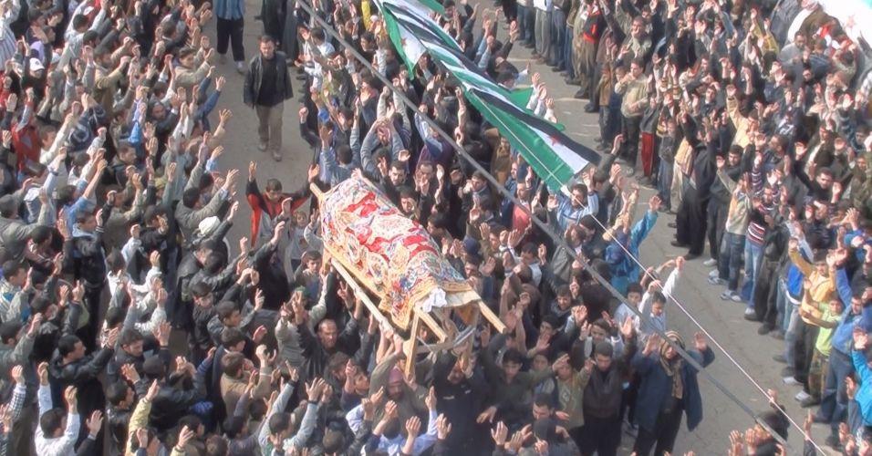 Protestos na Síria