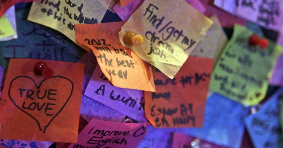 Desejos para 2012 (EUA)