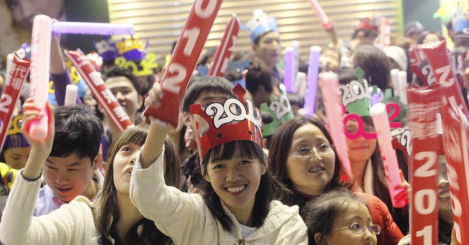Comemoração em Hong Kong