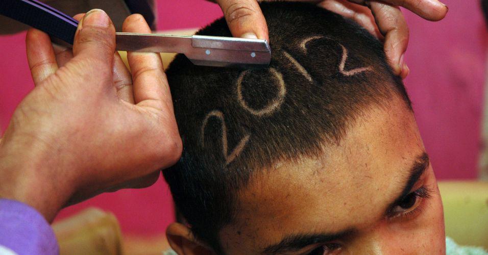 Corte de cabelo no Paquistão