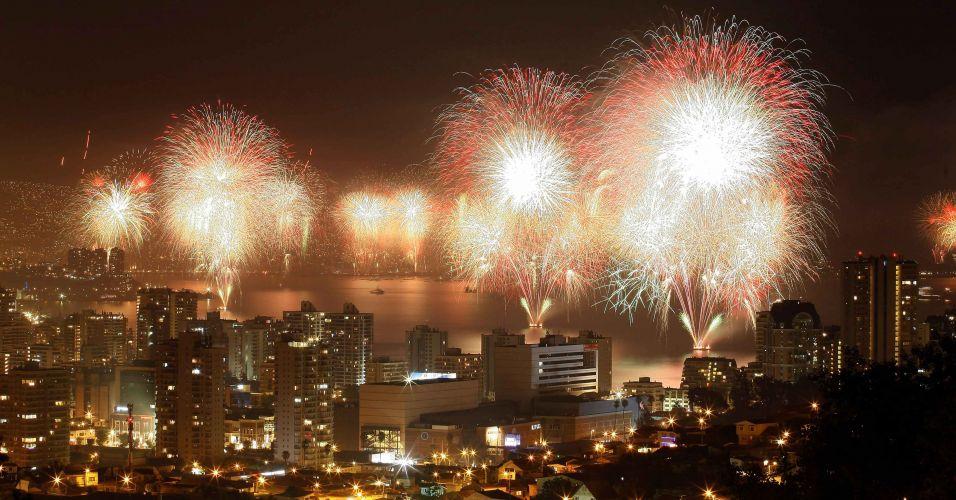 Festa no Chile