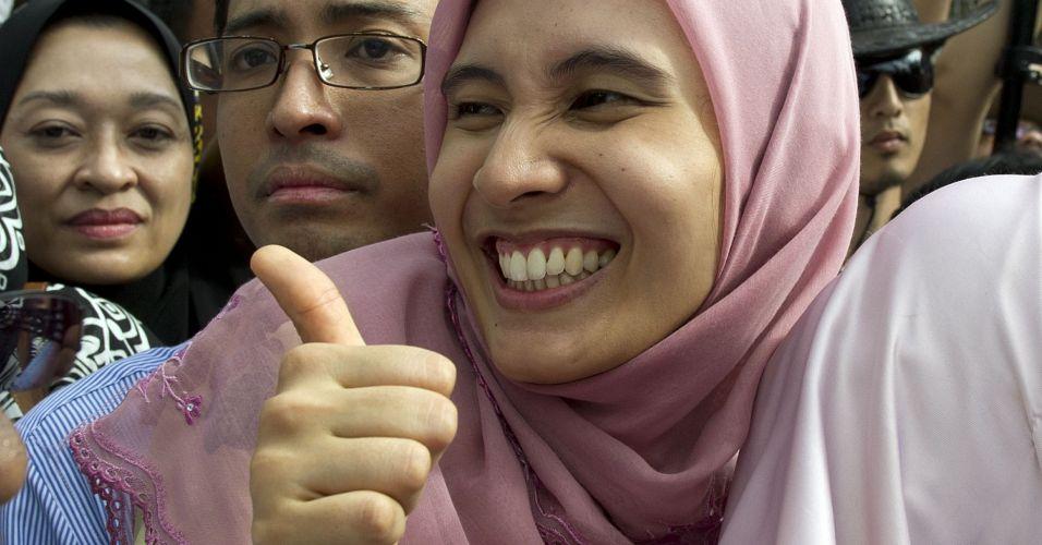 Julgamento de líder da oposição na Malásia