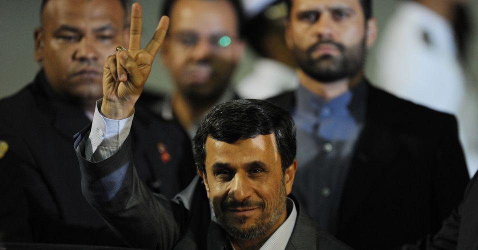 Ahmadinejad na Venezuela