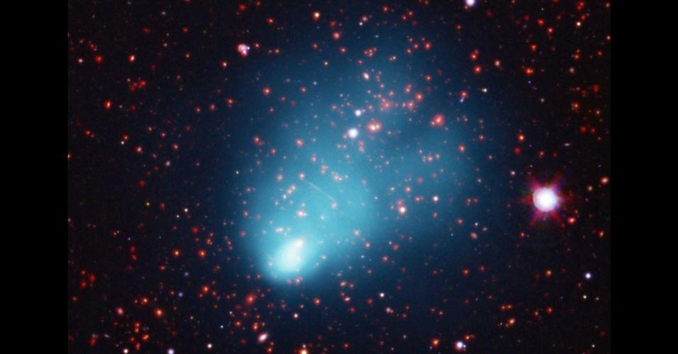 Galáxias jovens descobertas pela Nasa
