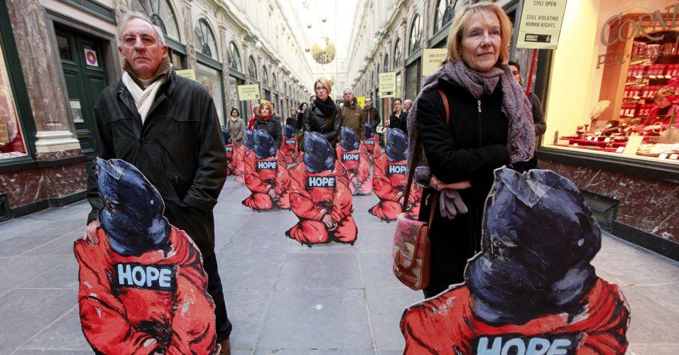 Protesto contra Guantánamo