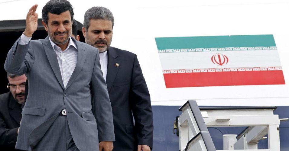 Ahmadinejad em Cuba