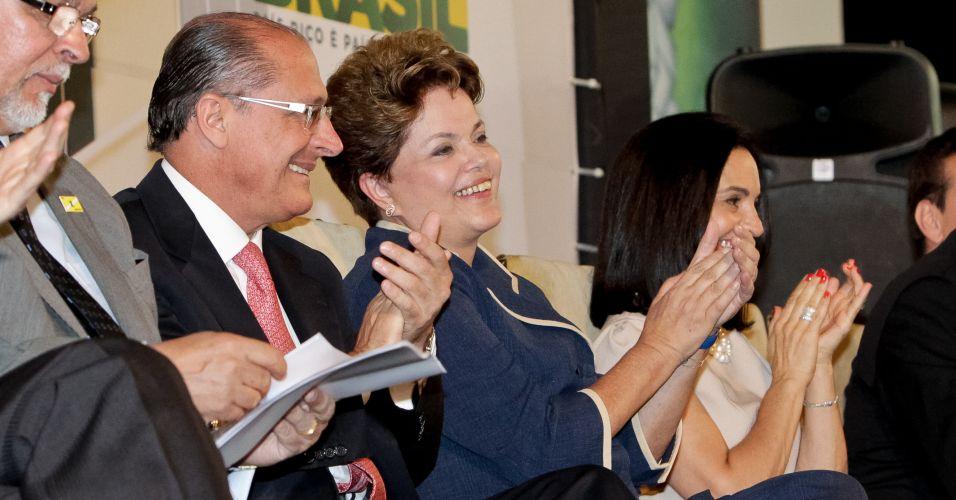 Dilma e Alckmin em SP