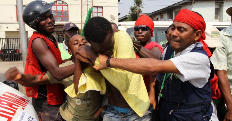 Protestos na Nigéria