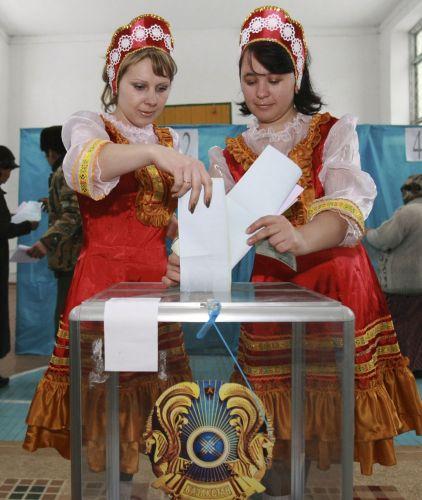 Eleições no Cazaquistão