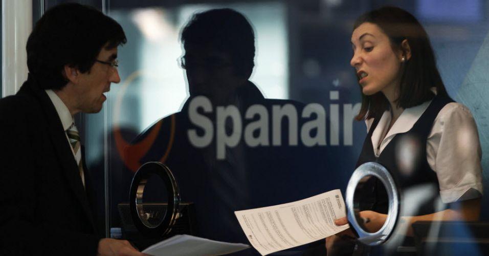 Spainair, Barcelona (Espanha)