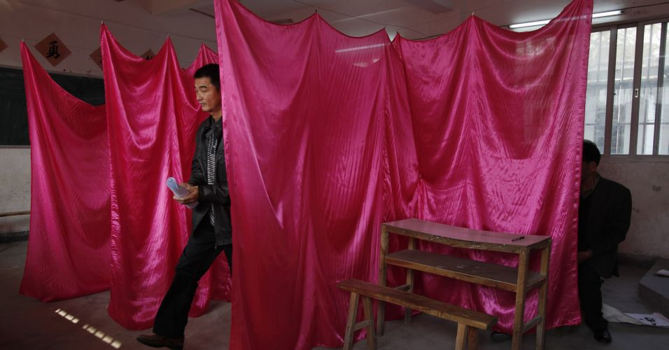 Votação em vilarejo chinês