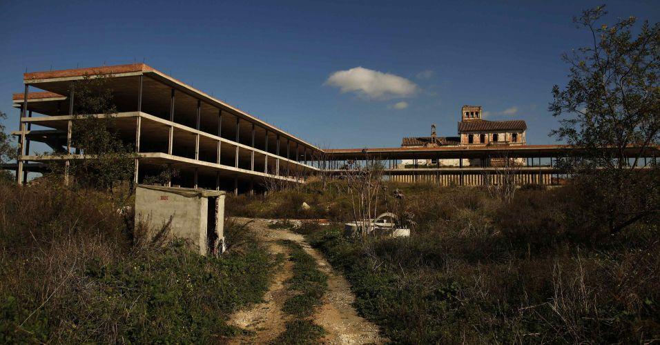Abandono de obras na Espanha