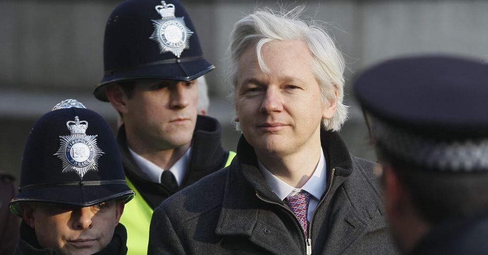 Assange em Londres