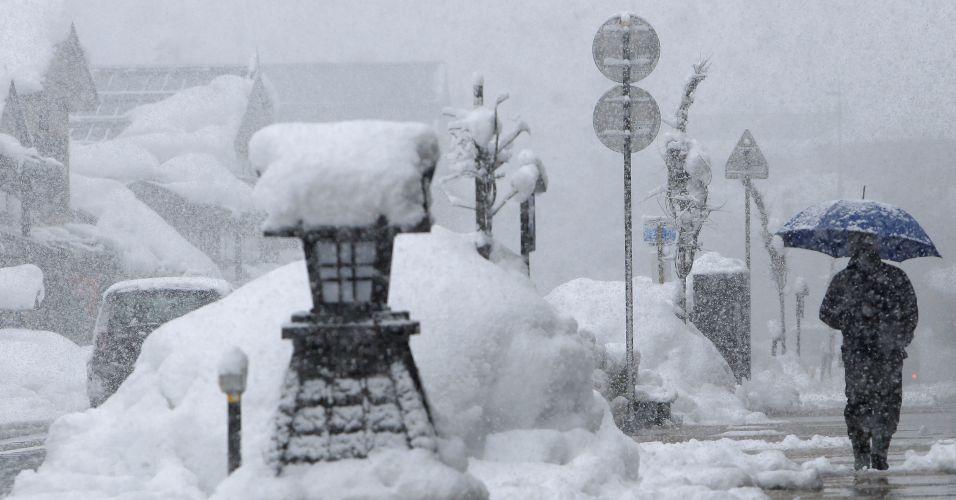 Nevasca no Japão