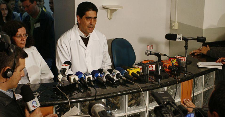 Médico anuncia morte cerebral de Eloá